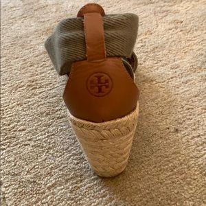 a4cbdee85 Tory Burch Shoes - Tory Burch Frieda Strappy Woven Wedge Espadrilles